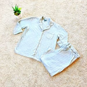 Ralph Lauren Grey Pajama Set